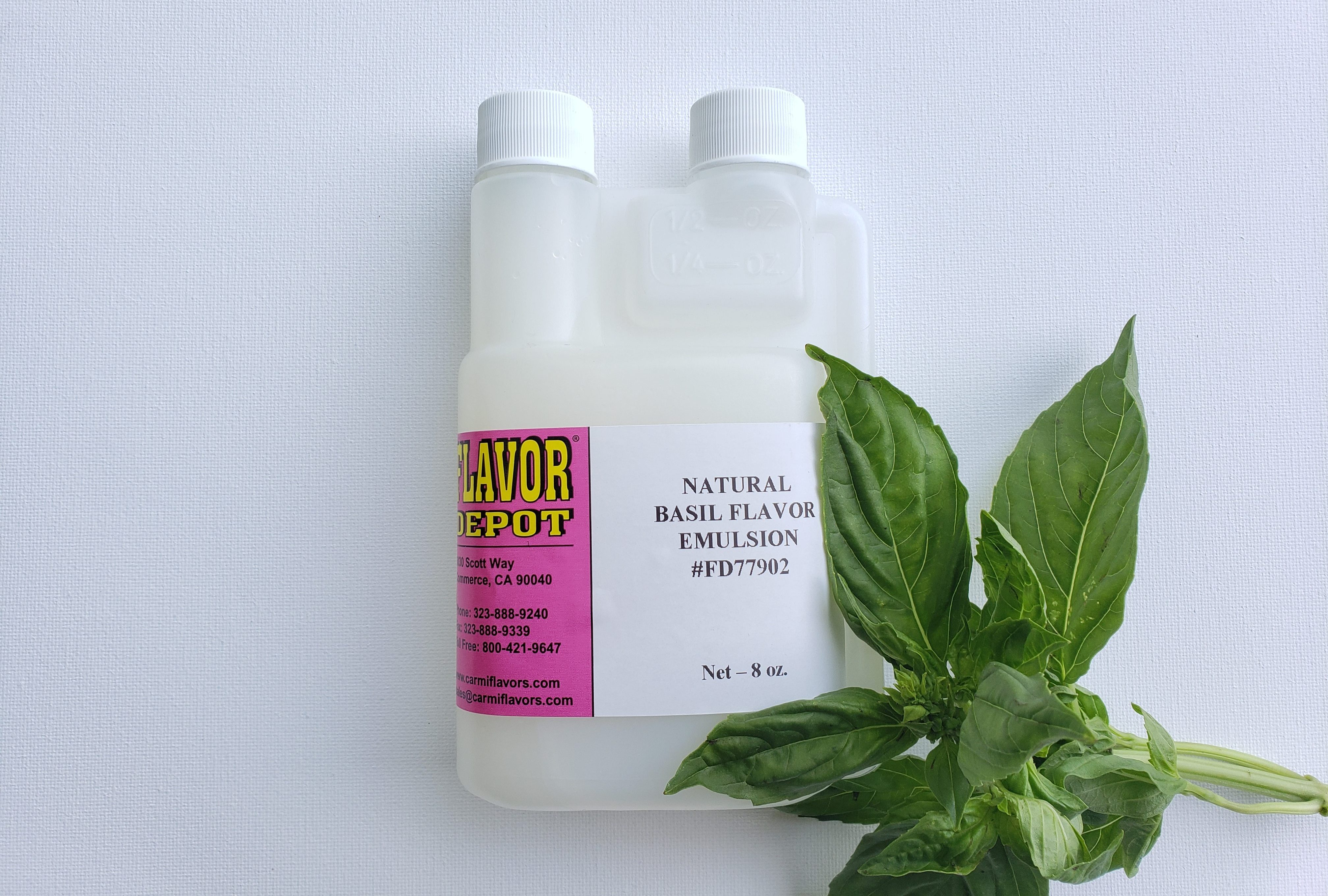 Natural Basil Flavor Emulsion